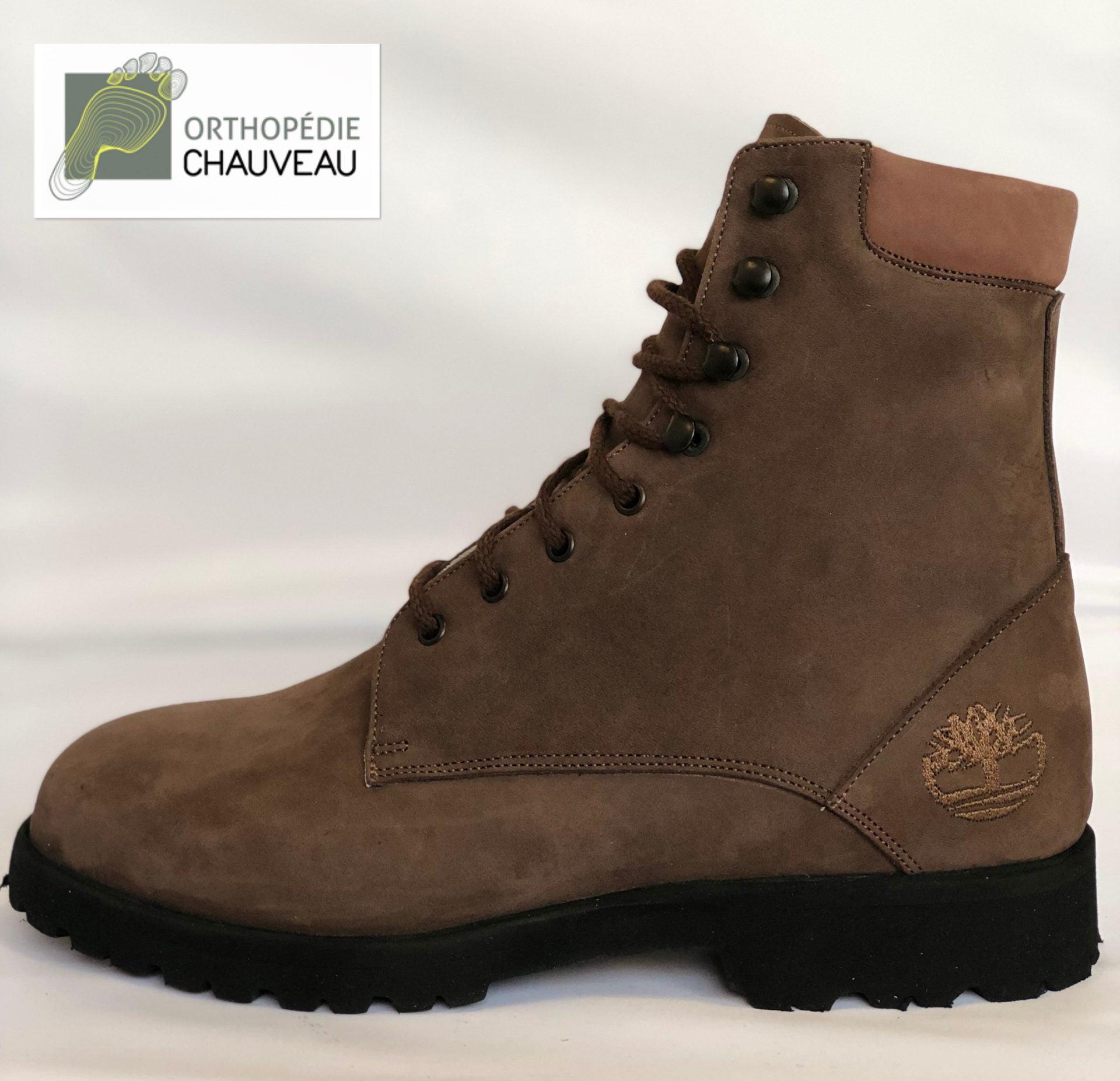 chaussures orthopédiques rennes bottines