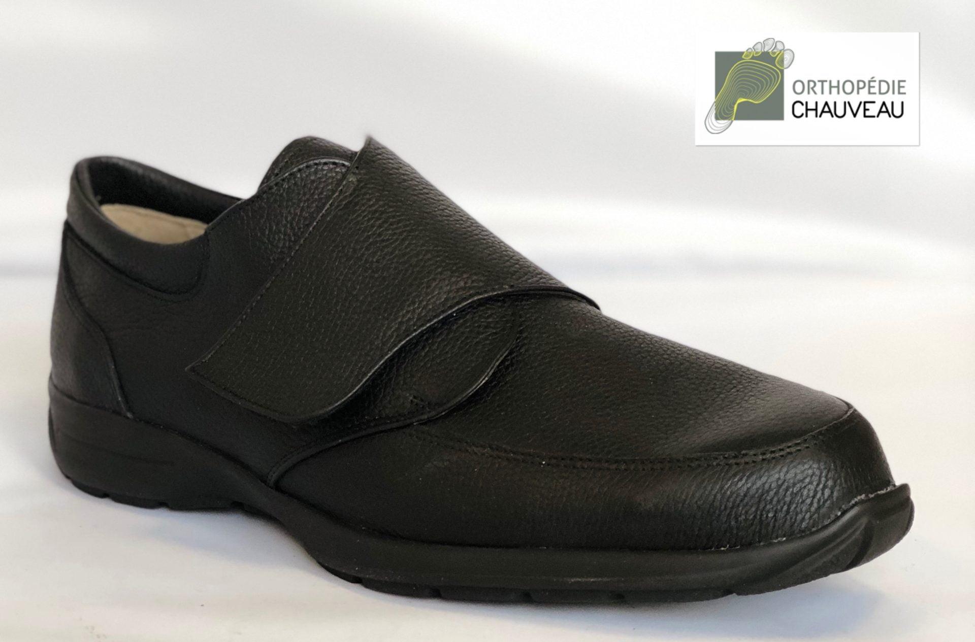 chaussures orthopédiques rennes cuir noir