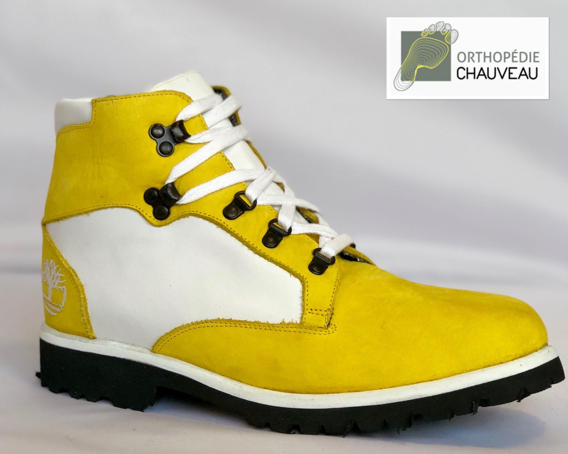 chaussures orthopédiques rennes cuir