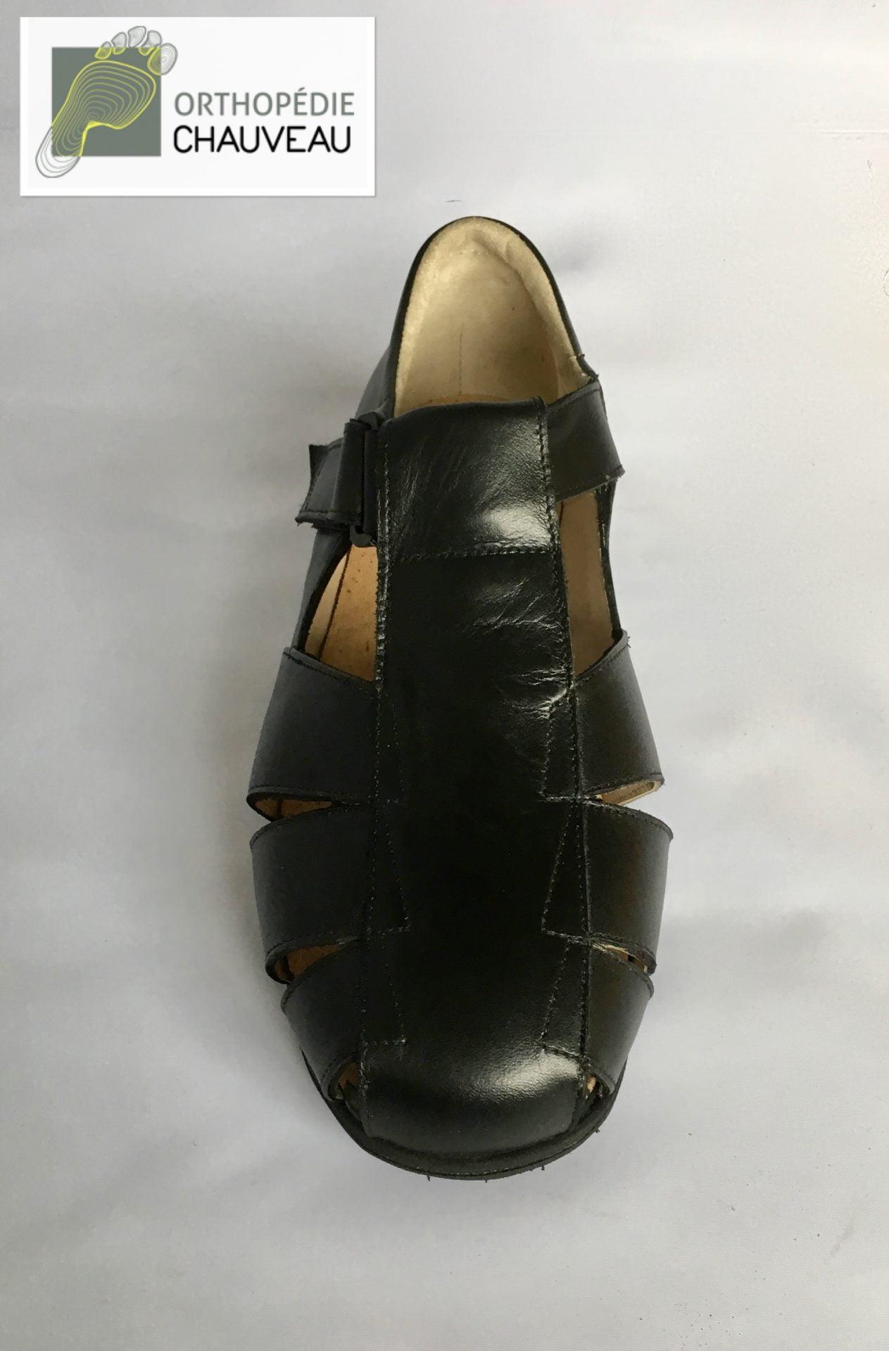 chaussures orthopédiques rennes ouverte