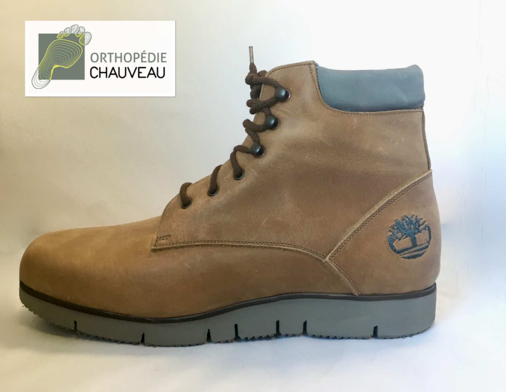 chaussures orthopédiques rennes timberland marron