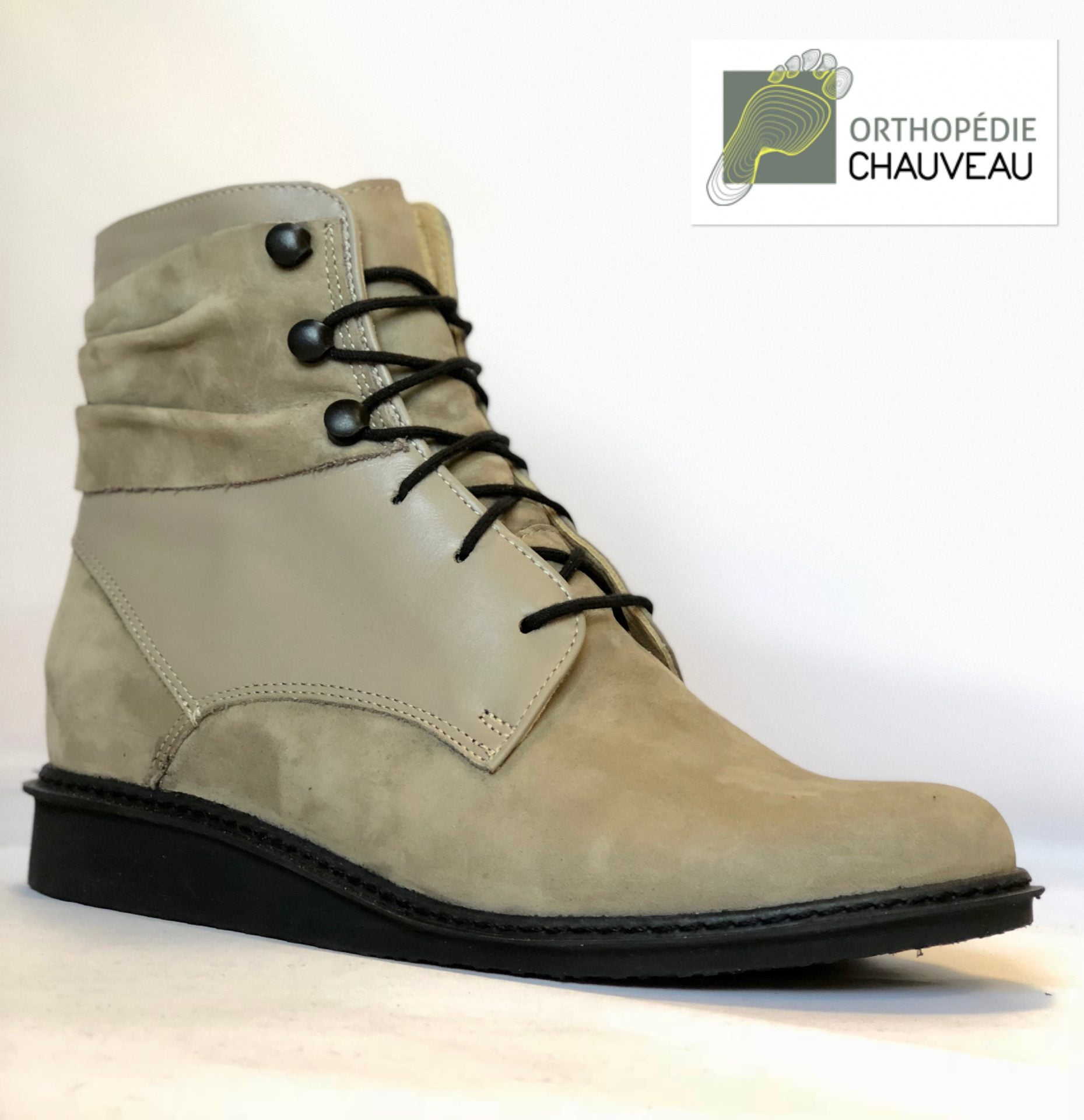 chaussures orthopediques Rennes St Malo bottines