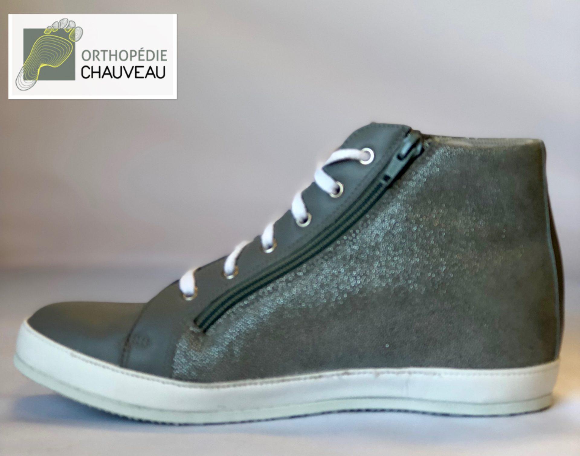 chaussures orthopediques Rennes basket bleu