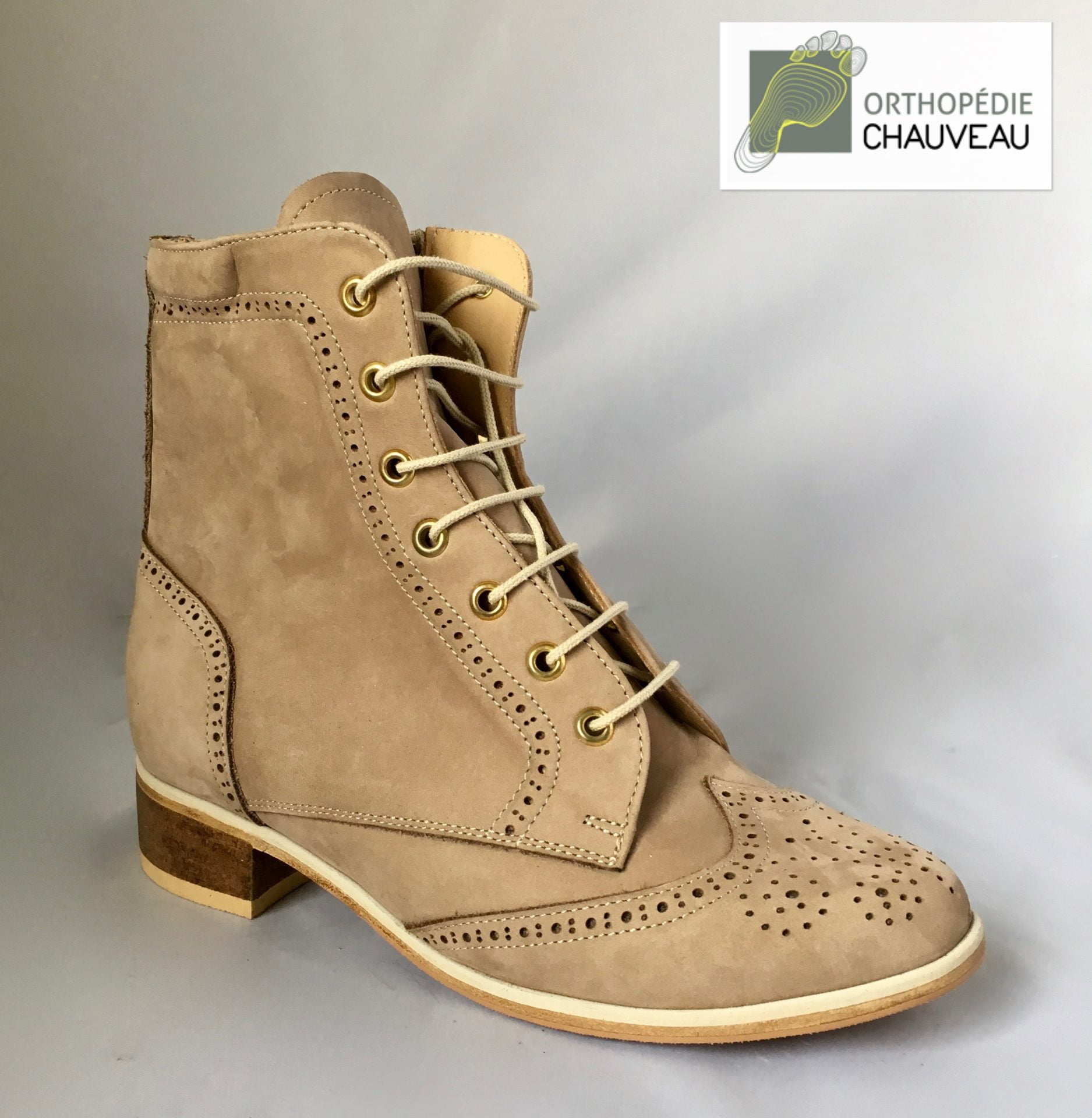 chaussures orthopediques Rennes beige