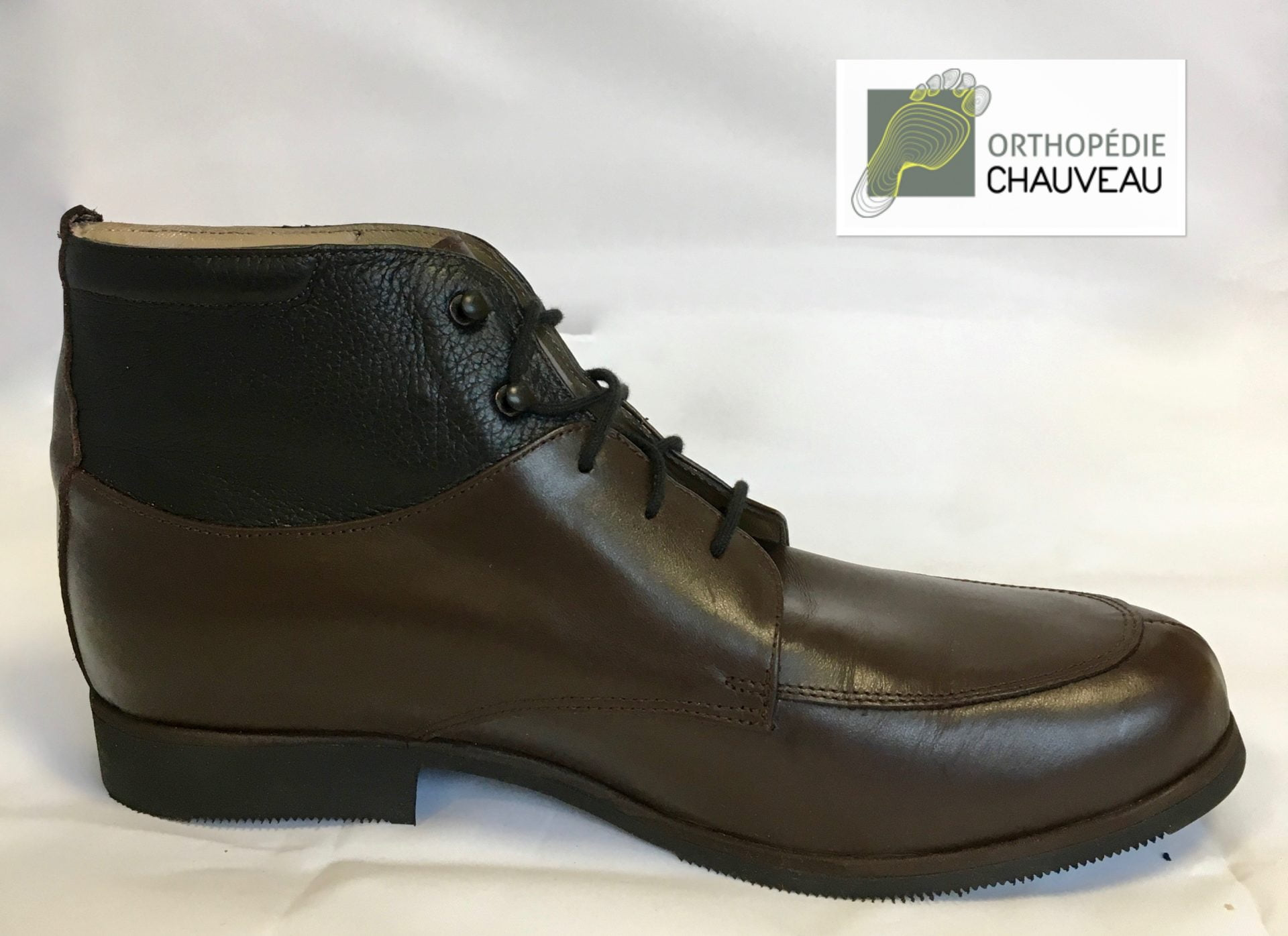 chaussures orthopediques Rennes bottine bicolore