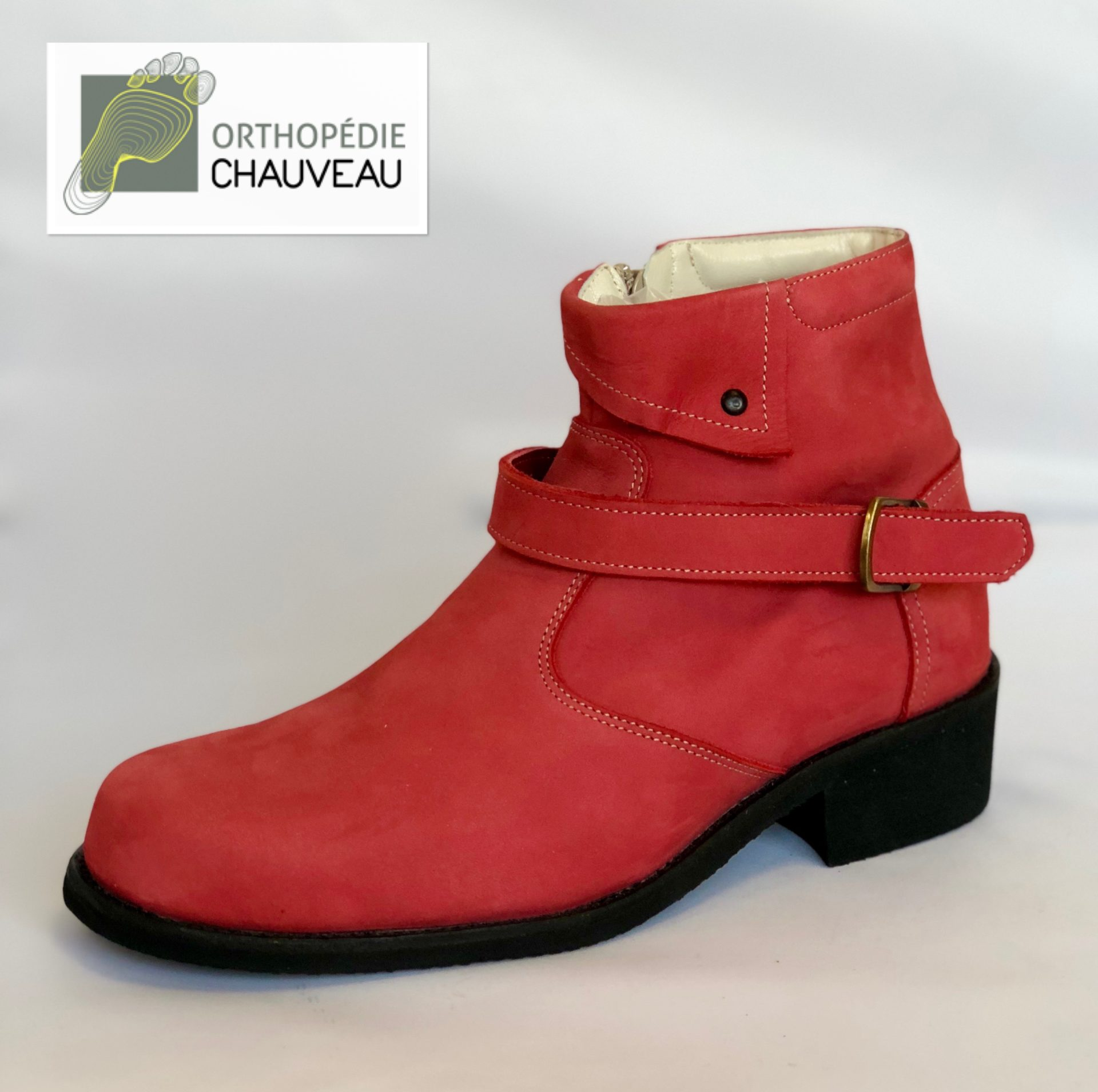chaussures orthopediques Rennes bottines femme