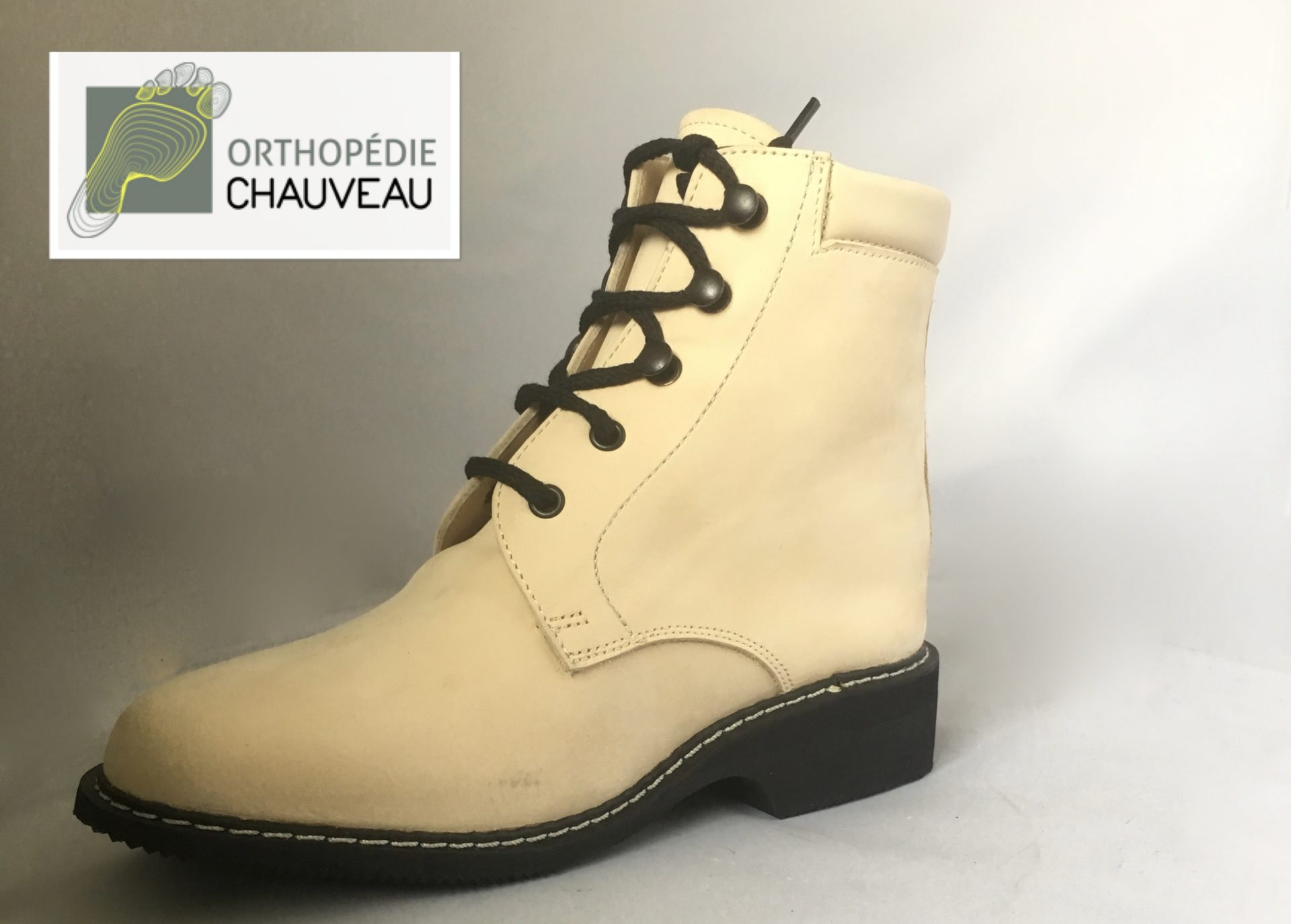 chaussures orthopediques Rennes bttines beige