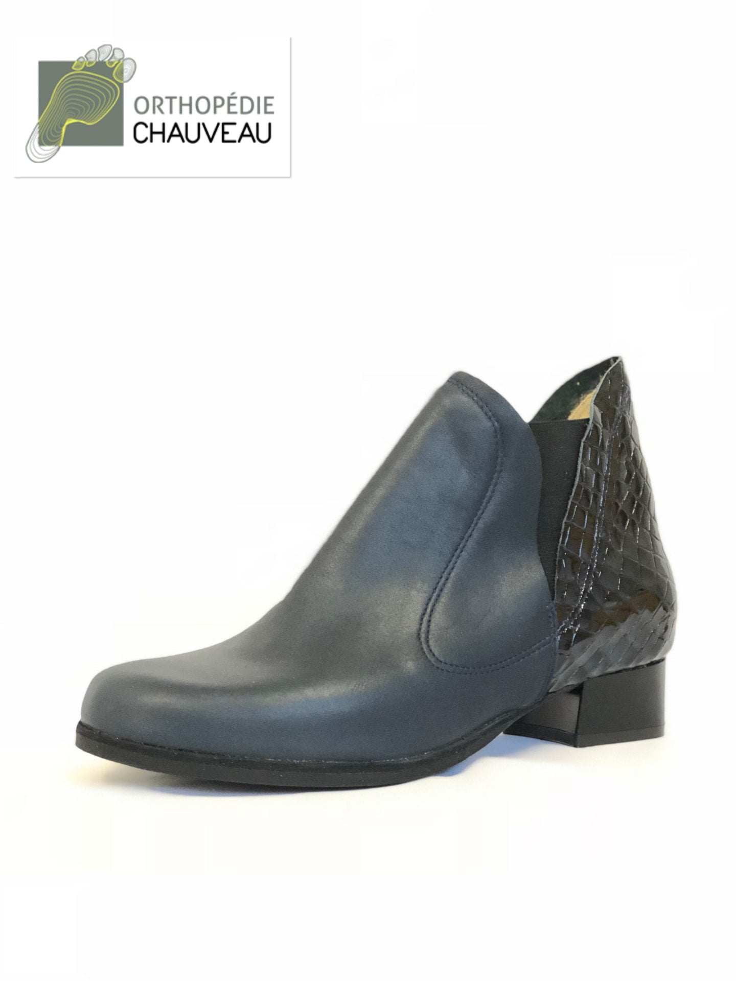 chaussures orthopediques Rennes st malo bottine cuir