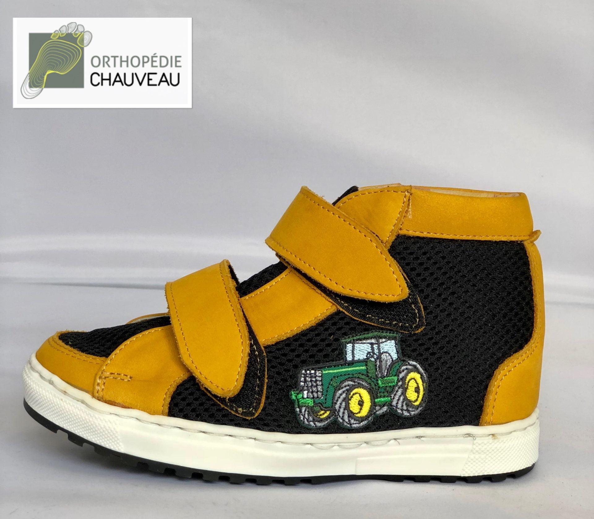 chaussures orthopediques Rennes st malo enfant montante