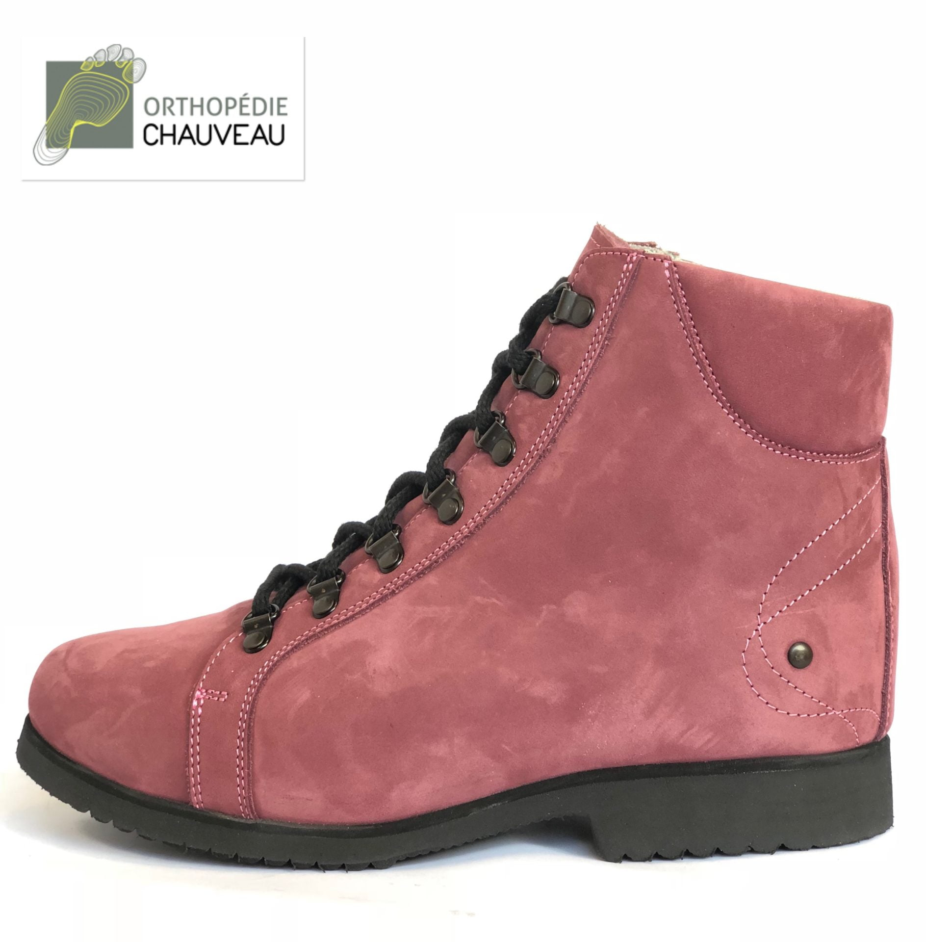 chaussures orthopediques Rennes st malo rose